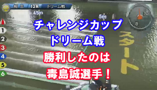 SGチャレンジカップ2019ドリーム戦勝利は毒島誠選手!レース展開、インタビュー掲載!