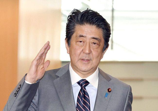 安倍首相が辞任1