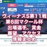 ヴィーナスシリーズ第11戦第6回マクール杯2020(宮島競艇)アイキャッチ