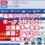 福岡ソフトバンクホークス杯2020(福岡G3)アイキャッチ