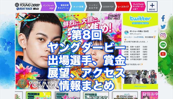 第8回ヤングダービー2021(徳山G1)アイキャッチ